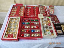 Xmas Decor,Ribbons,Candle Wind Chime, Totes Wood Game -  BOX 74 in Alamogordo, New Mexico