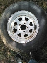 New tire and wheel for car dolly or trailer in Fort Leonard Wood, Missouri