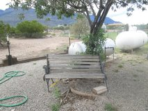 Park Bench in Alamogordo, New Mexico
