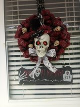 skull wreath in Fort Leonard Wood, Missouri