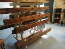 Vintage Barn Wood Beam Fireplace Mantels and Decor in DeKalb, Illinois