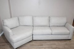 Light Gray Sofa with corner lounge piece in Spring, Texas