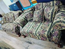 floral print couch and love seat set in Camp Lejeune, North Carolina