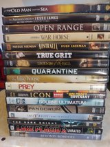 Variety of DVDS #4 in Fairfield, California