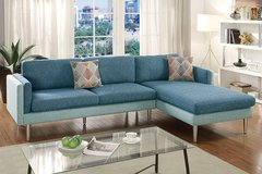 Dual tone reversible sectional in San Diego, California