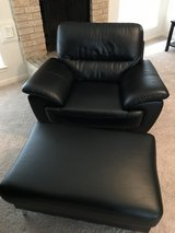 Over sized chair + ottoman in The Woodlands, Texas