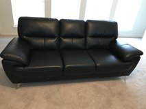 Black Sofa in The Woodlands, Texas