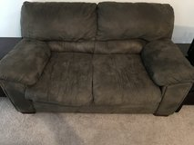 Microfiber Love seat in The Woodlands, Texas