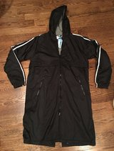 NEW-SPORTI, Hooded Striped Fleece-Lined Parka in Chicago, Illinois