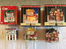 CocaCola Cristmas Houses/Accessories in Camp Lejeune, North Carolina