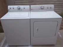 Maytag Centennial washer and electric dryer set in Alamogordo, New Mexico