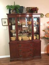 Antique China cabinet in Orland Park, Illinois