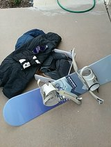 snowboard in Alamogordo, New Mexico