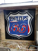 Vintage Phillips 66 Neon Sign Cover in Warner Robins, Georgia