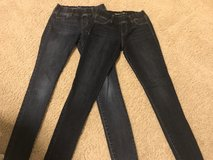 Gap- 2 pairs Girls Legging Jeans (14 slim) in Pleasant View, Tennessee
