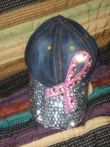 Breast Cancer Awareness Hat in Naperville, Illinois