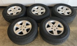 Jeep Wrangler tires (set of 5) in Chicago, Illinois