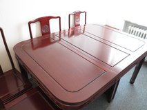 Rosewood Dining Room Set in Ramstein, Germany