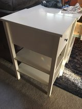 Pr. IKEA White Nightstands in Camp Pendleton, California