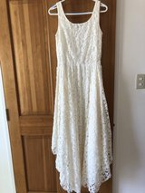 Lace Gown Size Medium in Okinawa, Japan