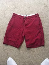 Red Old Navy Shorts in Okinawa, Japan