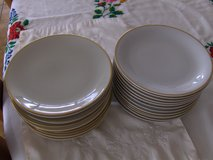 24 plates with gold rim in Stuttgart, GE