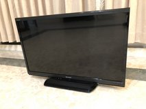"""Sharp 32"""" Television w/ Remote Control in Okinawa, Japan"""
