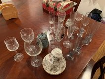 champagne, wine & other glasses in Okinawa, Japan