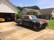 1952 Chevrolet Deluxe project car in Byron, Georgia