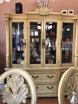 Dinning Table 8 chairs / China Cabinet in Baytown, Texas