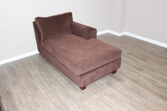 Brown Chaise in excellent condition- Plush Comfort in Spring, Texas