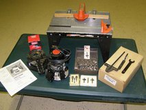 Craftsman Router, Router Table and accessories in Warner Robins, Georgia