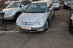 HONDA CIVIC AUTOMATIC, 5 DOOR, IMMACULATE. AT MILDENHALL CAR SALES in Lakenheath, UK