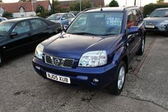 NISSAN X TRAIL MANUAL 5 SPEED SUV. VERY SPACIOUS in Lakenheath, UK