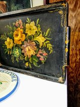 antique hand painted serving tray in Cherry Point, North Carolina