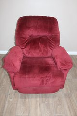 Red Recliner- Plush in Spring, Texas