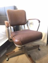Vintage military desk chair in Travis AFB, California
