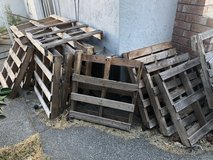 Pallets in Vacaville, California