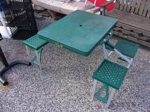 Child Fold Up Picnic Table in Fort Riley, Kansas