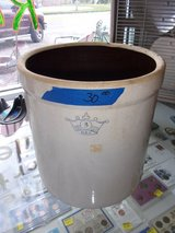Salt Glaze Three Gallon USA Crock in Fort Riley, Kansas