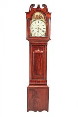 Antique Mahogany 8 Day Longcase Clock in Birmingham, Alabama
