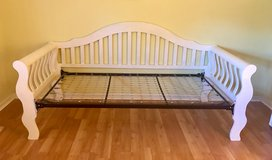White Daybed in Joliet, Illinois