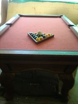 Pool table full size in pretty good shape in 29 Palms, California