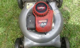 For sale Sears lawn mower with bag in Perry, Georgia