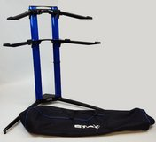 STAY Music Keyboard Stand 2 Tier Piano Model Blue w/Bag in Arlington, Texas