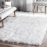 Large Fluffy Rug in Fort Irwin, California