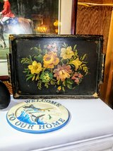 wood antique serving tray in Cherry Point, North Carolina