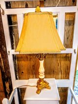 Paw foot alabaster lamp in Cherry Point, North Carolina