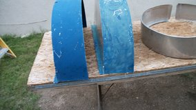 SHEET METAL FENDER COVERS TO PUT ON SMALL TRAILER in Alamogordo, New Mexico