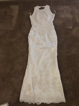 Wedding Dress in Schofield Barracks, Hawaii
